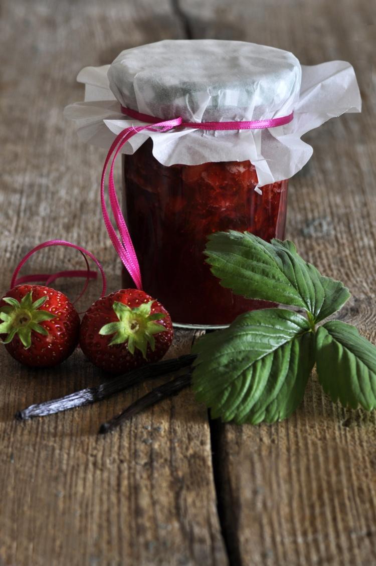Marmelade mit Vanille